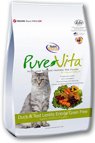 PureVita Duck & Red Grain Free Cat Food