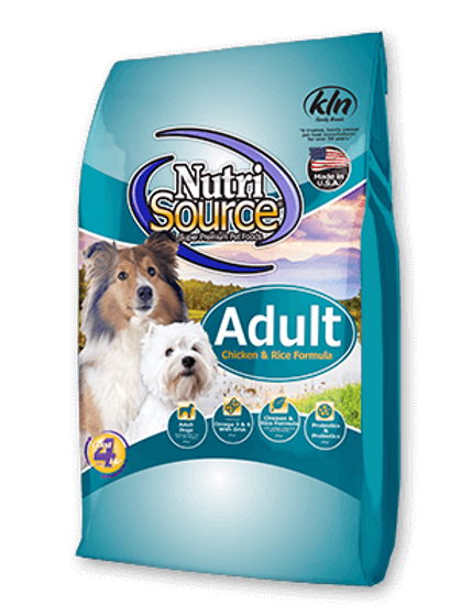 Nutri Source Adult Chicken/Rice Dog Food