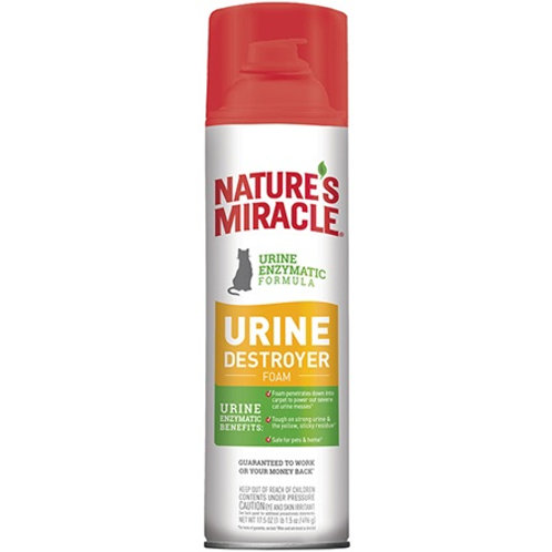 Nature's Miracle Urine Destroyer Foam for Cats