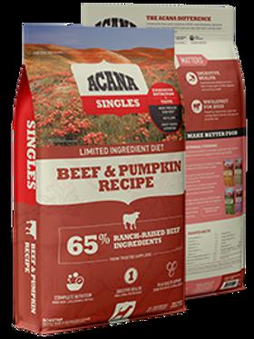 Acana Singles Beef and Pumpkin