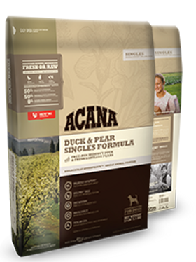 Acana Singles Duck & Pear Grain Free Dog Food