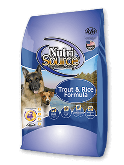Nutri Source Trout and Rice