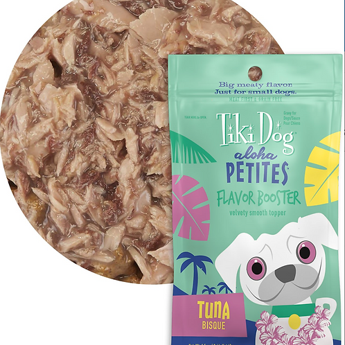 Tiki Dog Aloha Bisque