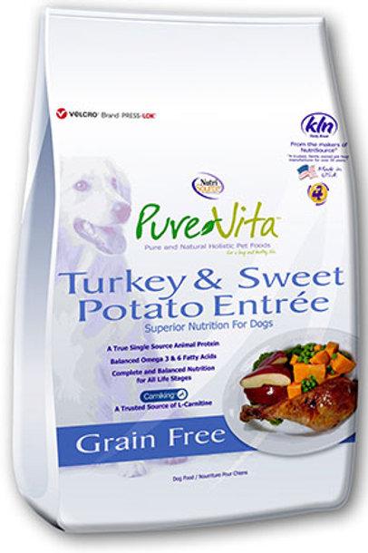 PureVita Turkey & Sweet Potato Grain Free Dog Food