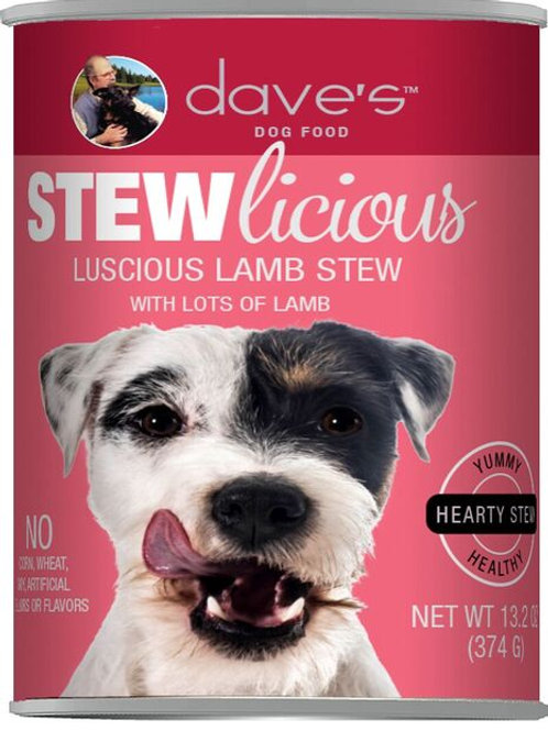 Dave's Stewlicious Canned Dog Food 13oz
