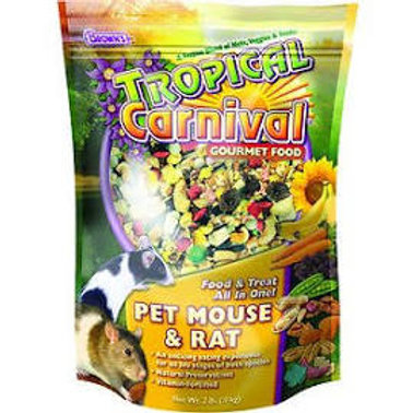 Tropical Carnival Mouse and Rat Food - 2 lbs