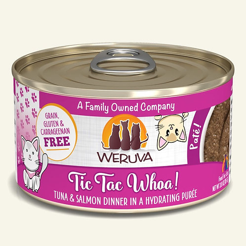 Weruva Tic Tac Whoa Pate Cat Food 3oz