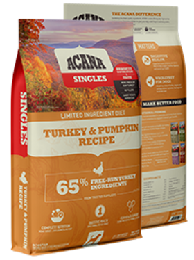 Acana Singles Turkey and Pumpkin