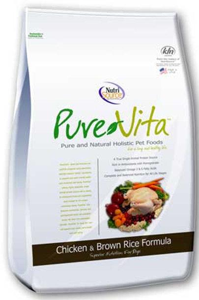 PureVita Chicken & Rice Dog Food