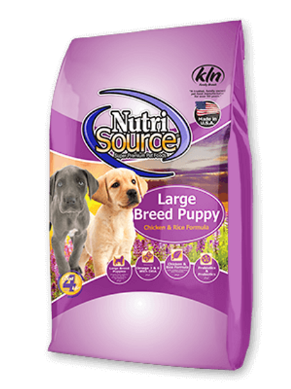 Nutri Source Large Breed Puppy Dog Food