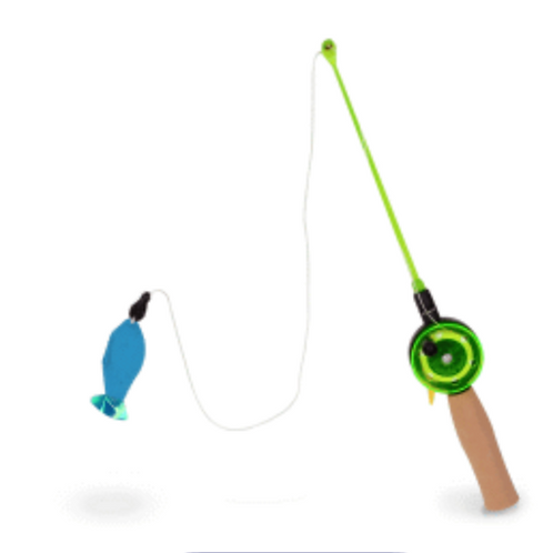 Our Pets Fishing Rod with Cat Toy
