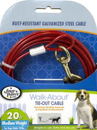 Four Paws Medium Weight Tie Out Cable