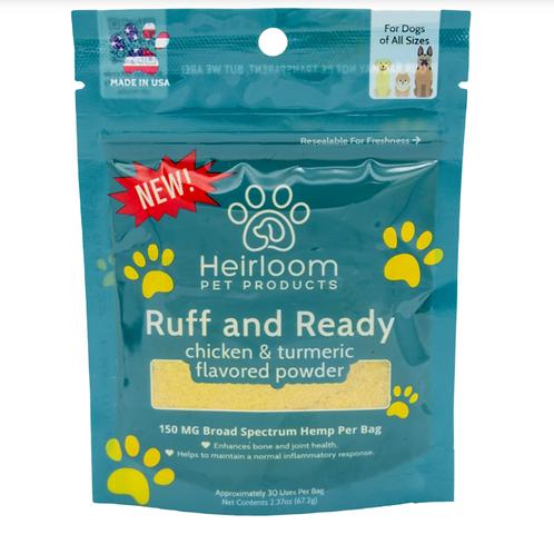 Heirloom Ruff and Ready Hemp Powder 2oz