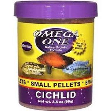 Omega One Cichlid Floating Pellet Fish Food