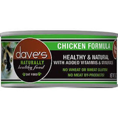 Dave's Canned Grain Free Cat Food 5.5oz