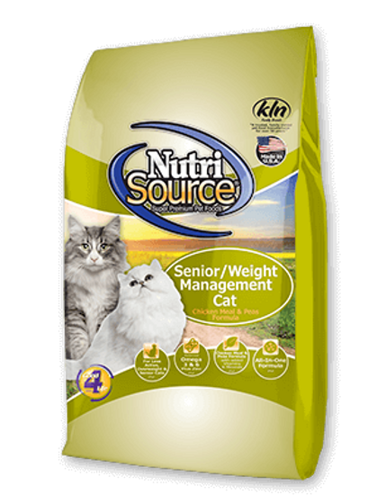 Nutri Source Senior/Weight Management Cat Food