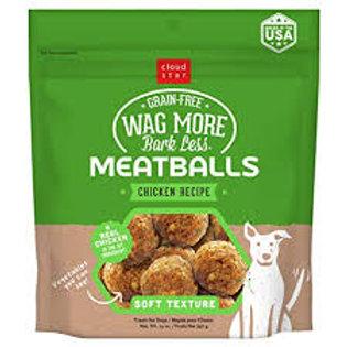 Wag More Grain Free Meatballs Treats
