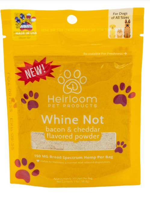Heirloom Whine Not Hemp Powder 2oz