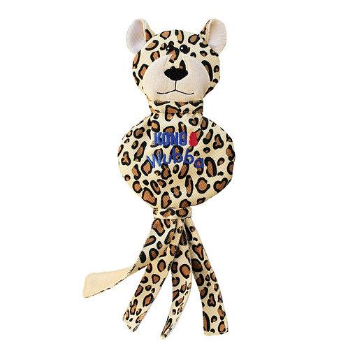 Kong Wubba No Stuff Cheetah & Zebra