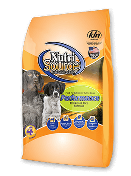 Nutri Source Adult Performance Dog Food
