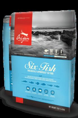 Orijen Six Fish Grain Free Cat Food
