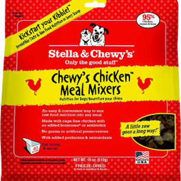 Stella & Chewy's Freeze Dried Meal Mixers