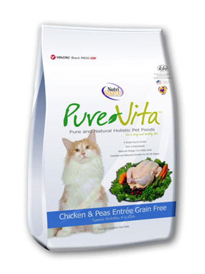 PureVita Chicken & Peas Grain Free Cat Food