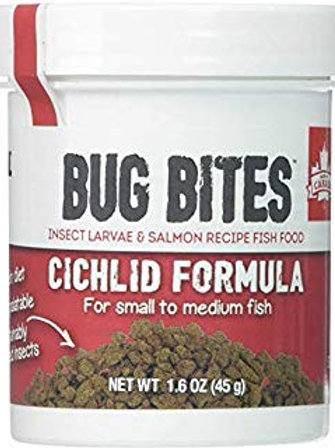 Fluval Bug Bites Cichlid Formula