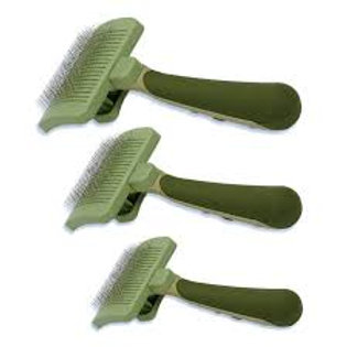 Safari Self Cleaning Slicker Brush