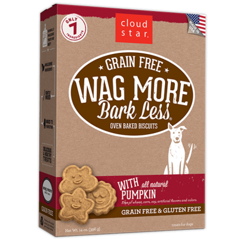 Wag More Grain Free Dog Biscuits