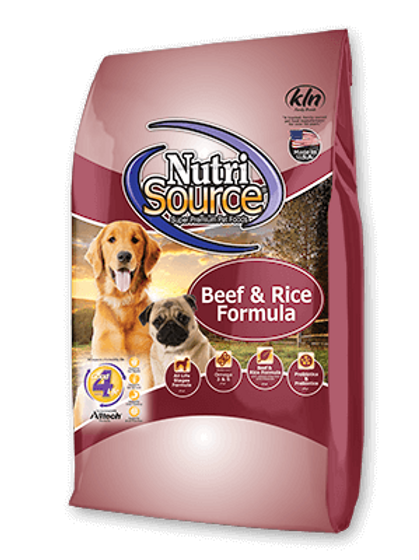 Nutri Source Beef and Rice