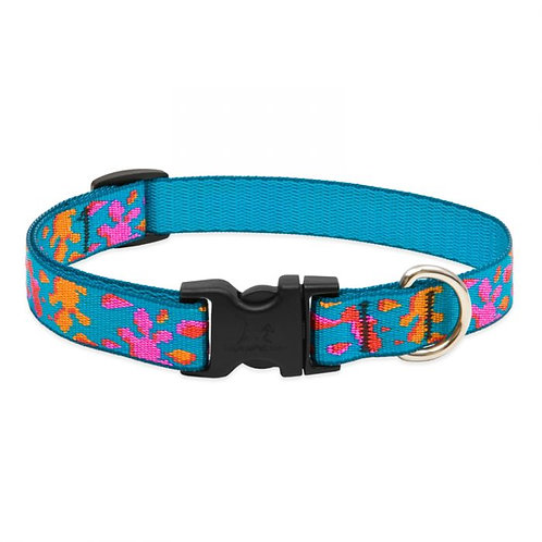 Lupine Wet Paint Dog Collar