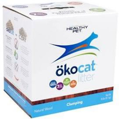 Okocat Clumping Wood Cat Litter