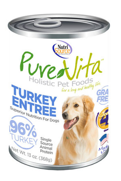 PureVita Canned Dog Food 12oz