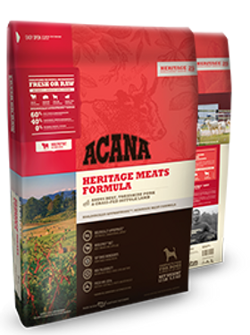 Acana Heritage Meats Grain Free Dog Food