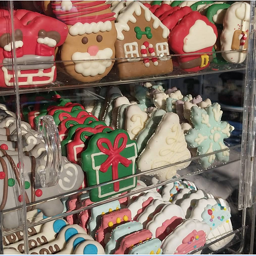 Variety of Gourmet Cookies + Holiday