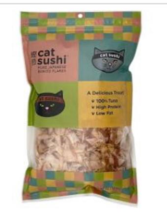 Presidio Cat Sushi Classic or Thick Cut Flakes
