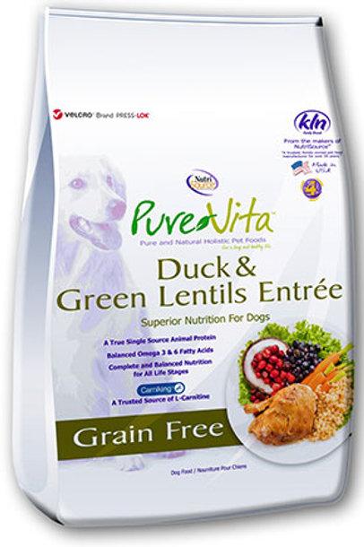 PureVita Duck & Green Lentils Grain Free Dog Food