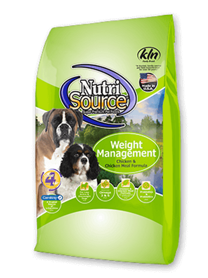 Nutri Source Adult Weight Management Dog Food