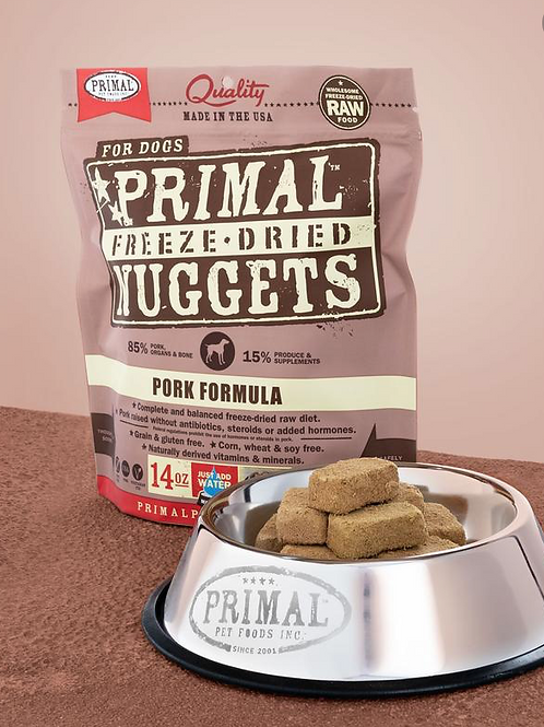Primal Dog Freeze Dried Nuggets 14 oz