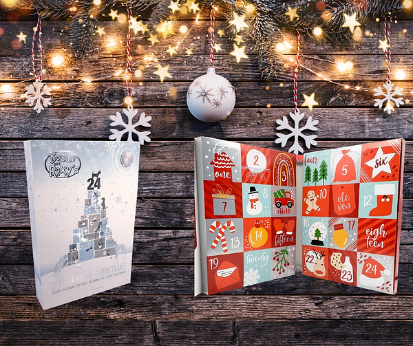 Cookie Advent Calendars One for you AND