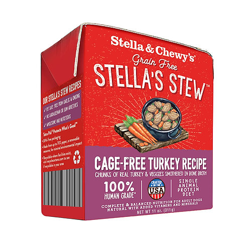 Stella & Chewy Grain Free Turkey Stew