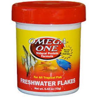 Omega One Freshwater Flake Fish Food