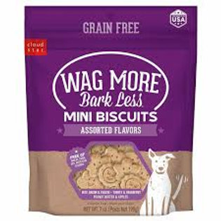Wag More Grain Free Mini Oven Baked Assorted Flavo