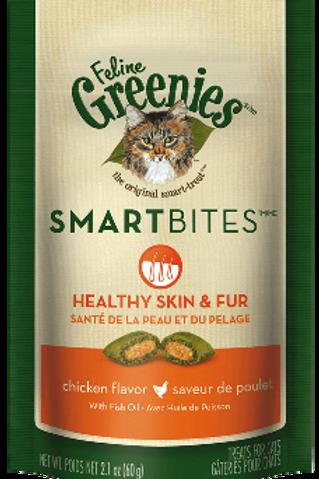 Greenies Smartbite Cat Treats 2.1oz