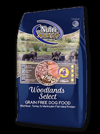 Nutri Source Woodlands Select Grain Free Dog Food