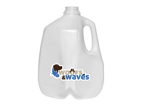 Gallon Water jug with reverse osmosis de-ionized water