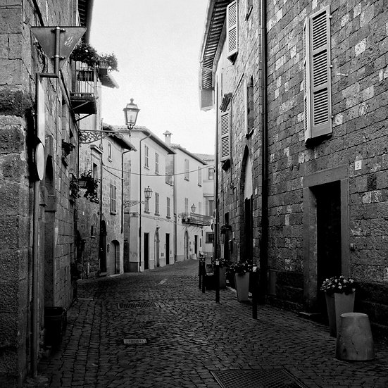 Streets Of Umbria