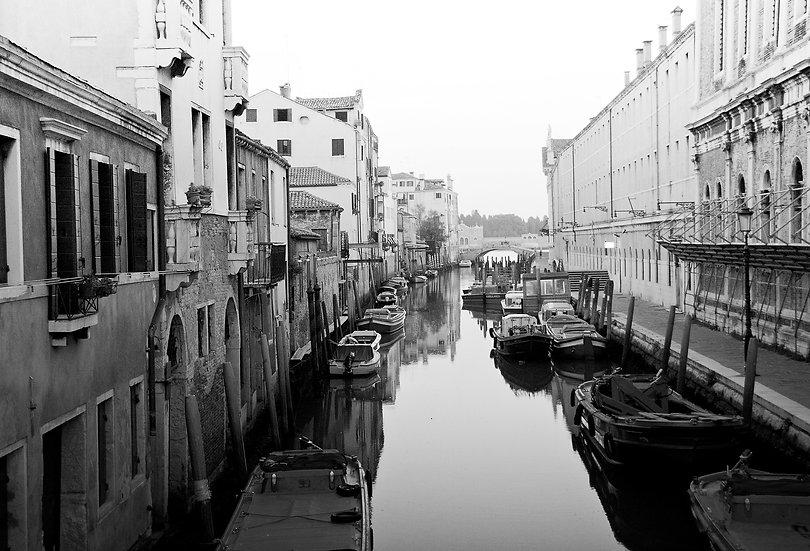 The Backstreets Of Venice