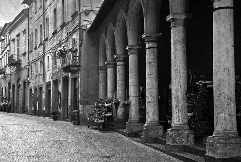 The Streets Of Orvieto